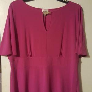 Plus Size Pink Ashley Graham  Beyond Dress
